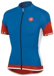 Dres Castelli ENTRATA JERSEY FZ blue red