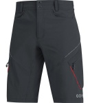 Kalhoty GORE C3 TRAIL shorts Black/red