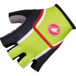 Rukavice CASTELLI VELOCISSIMO DS GLOVE Black/acid green