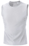 Triko GORE M BASE LAYER Sleeveless White